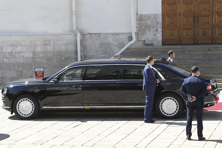 Российский лимузин для Путина - внешний вид, характеристики автомобиля 3