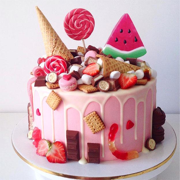 Самые красивые и прикольные фото тортов - самые оригинальные 14