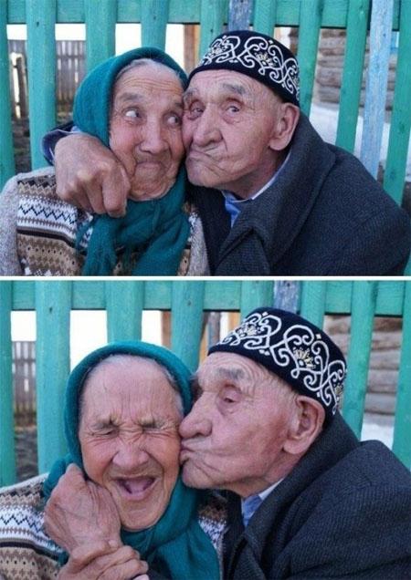 Смешные фото стариков и старушек - забавная коллекция 2018 10
