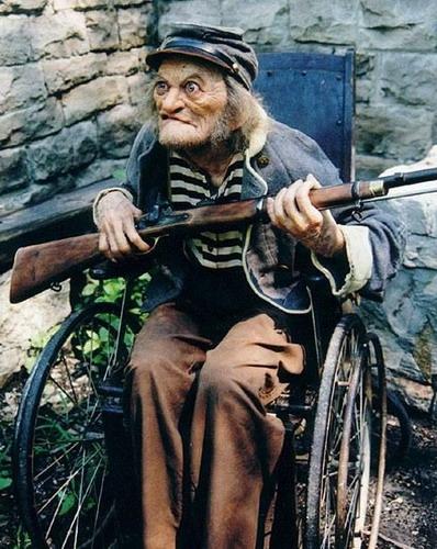 Смешные фото стариков и старушек - забавная коллекция 2018 6