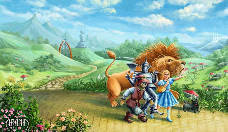 Волшебник Изумрудного Города - красивые картинки и рисунки 4