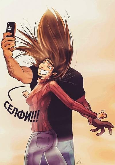 Забавные комиксы Иегуды Ади Девира про его веселую жизнь с супругой 24