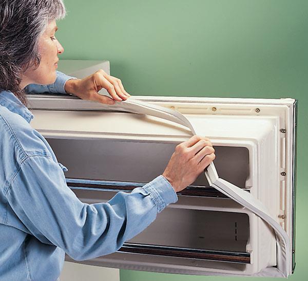 Как заменить уплотнитель в холодильнике - инструкция и шаги 3