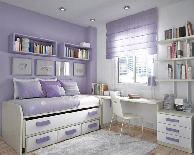 Как обустроить маленькую детскую спальню Интересные советы 1
