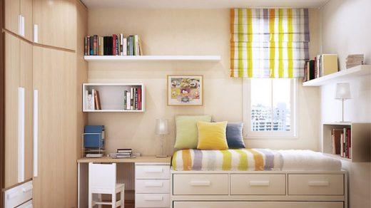 Как обустроить маленькую детскую спальню Интересные советы 2