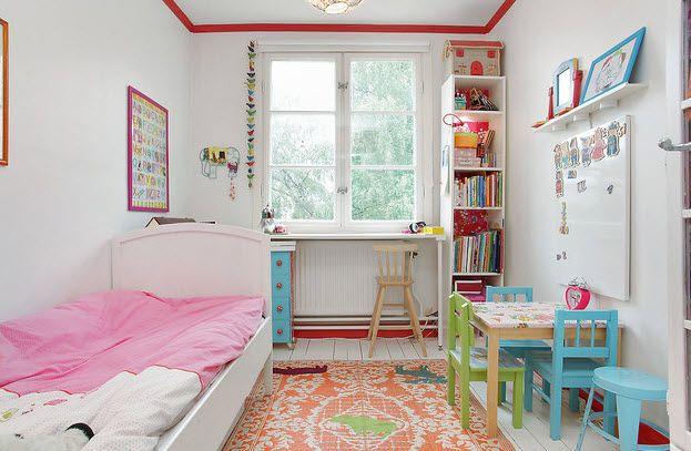 Как обустроить маленькую детскую спальню Интересные советы 3