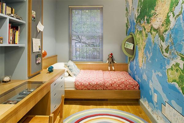 Как обустроить маленькую детскую спальню Интересные советы 4