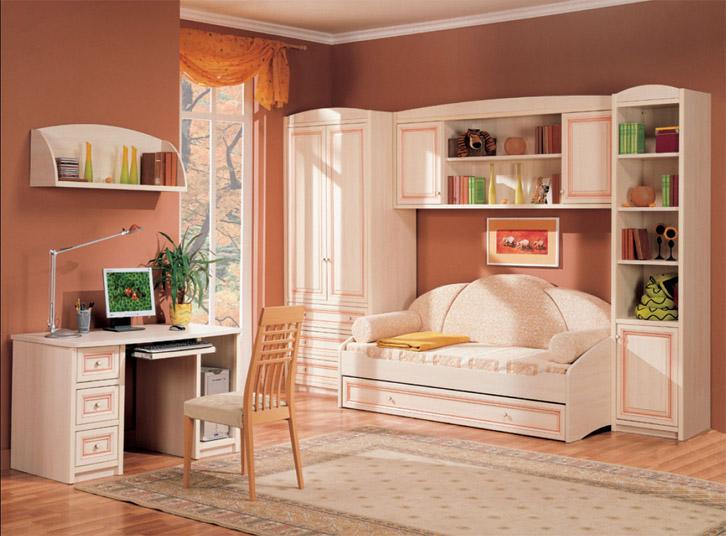 Как обустроить маленькую детскую спальню Интересные советы 5