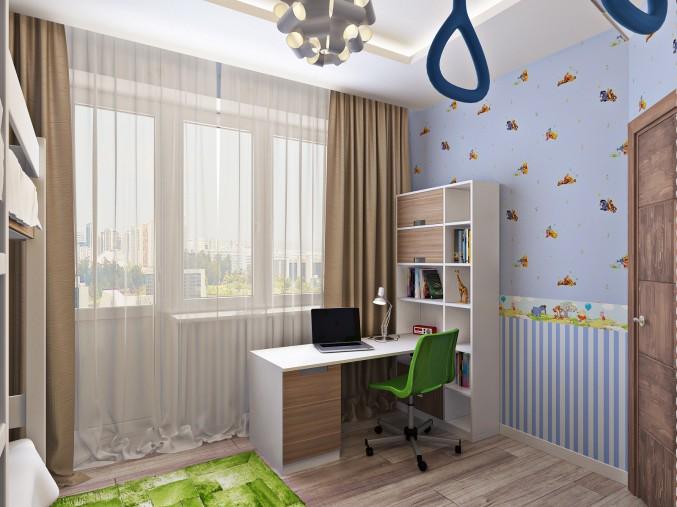 Как обустроить маленькую детскую спальню Интересные советы 8