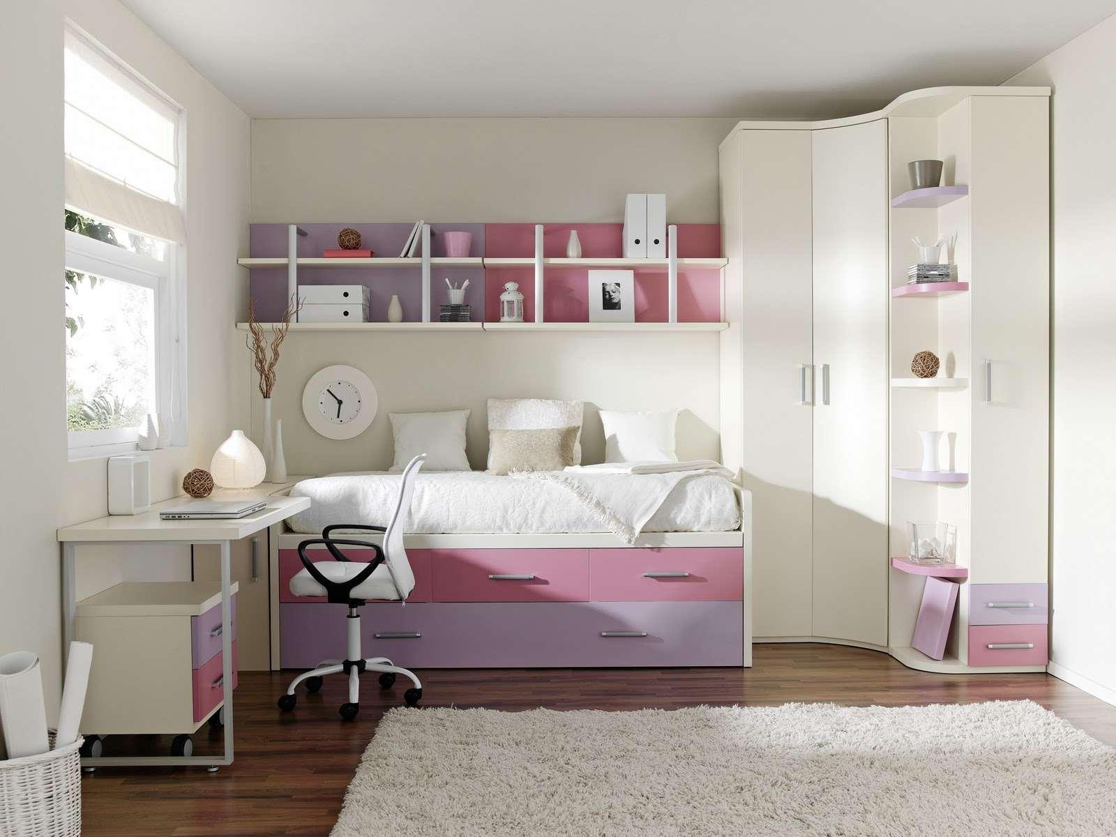 Как обустроить маленькую детскую спальню Интересные советы 9