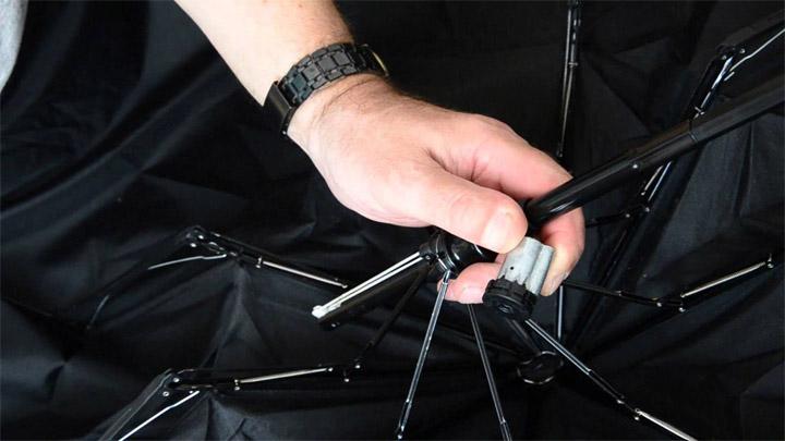 Как отремонтировать зонт-автомат своими руками - простые советы 2