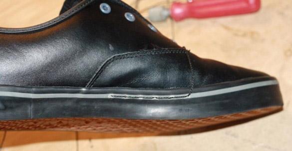 Как прошить обувь шилом или крючком своими руками - способы 4