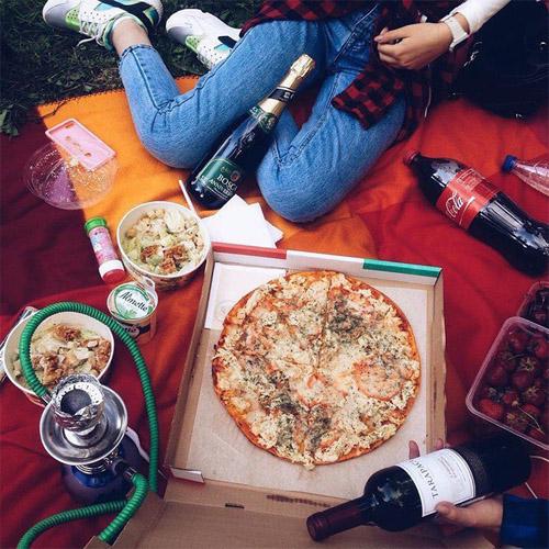 Картинки на аву с едой и девушки с едой - самые необычные 15