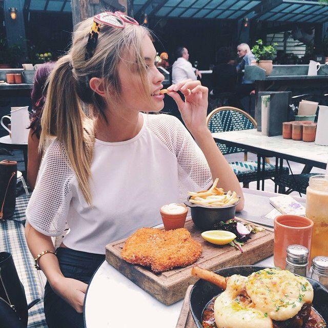 Картинки на аву с едой и девушки с едой - самые необычные 9