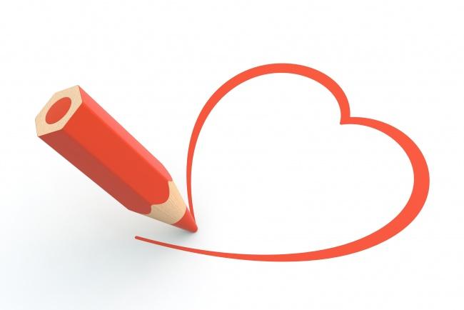 Классные и красивые картинки для срисовки сердечки и сердца - сборка 13