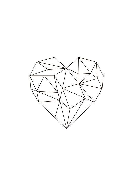 Классные и красивые картинки для срисовки сердечки и сердца - сборка 14