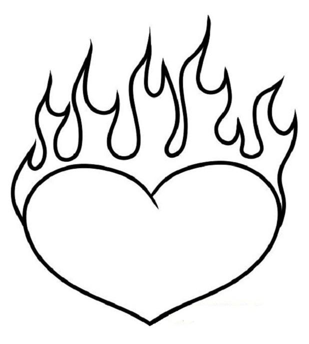 Классные и красивые картинки для срисовки сердечки и сердца - сборка 7