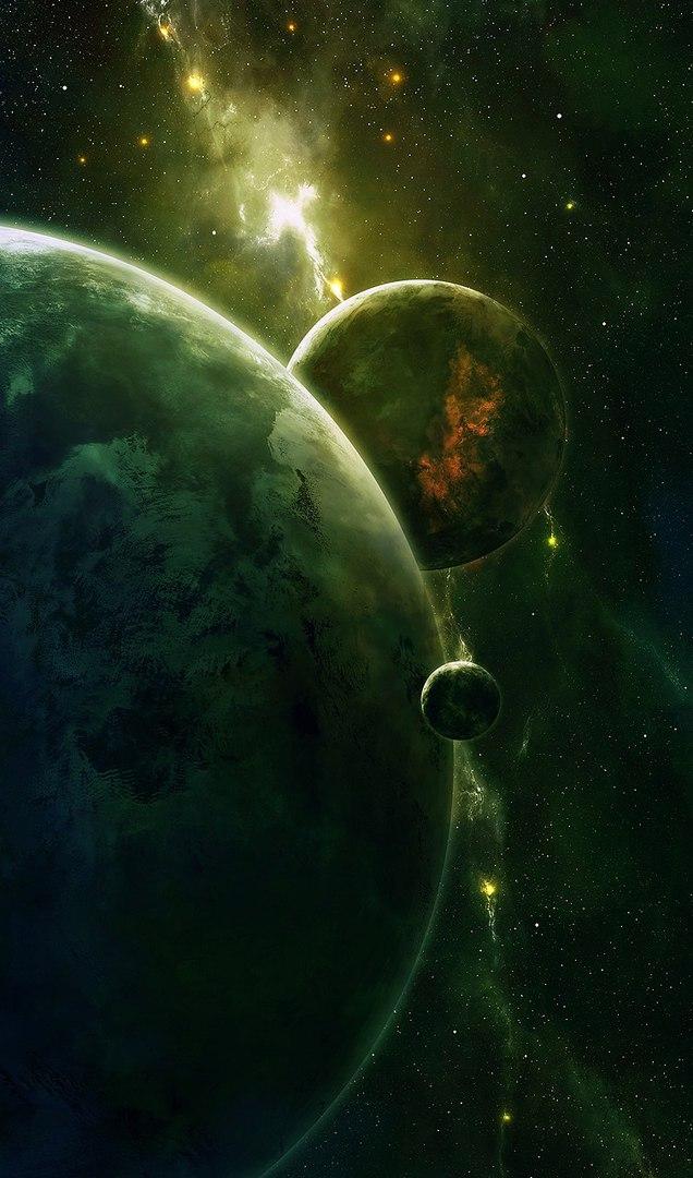Классные и прикольные картинки на аву космос и звезды - подборка 12