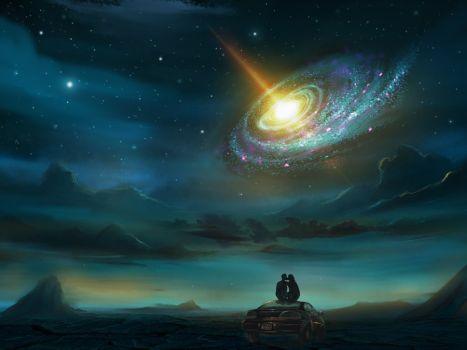 Классные и прикольные картинки на аву космос и звезды - подборка 16