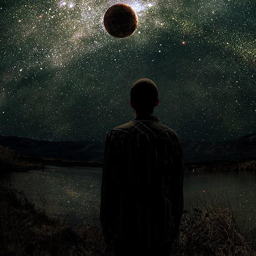 Классные и прикольные картинки на аву космос и звезды - подборка 4