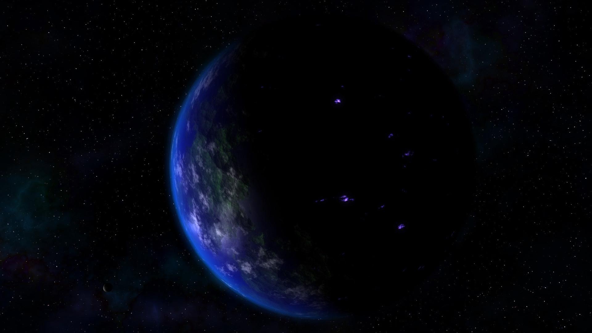 Классные и прикольные обои космоса и неба на рабочий стол - сборка №7 11