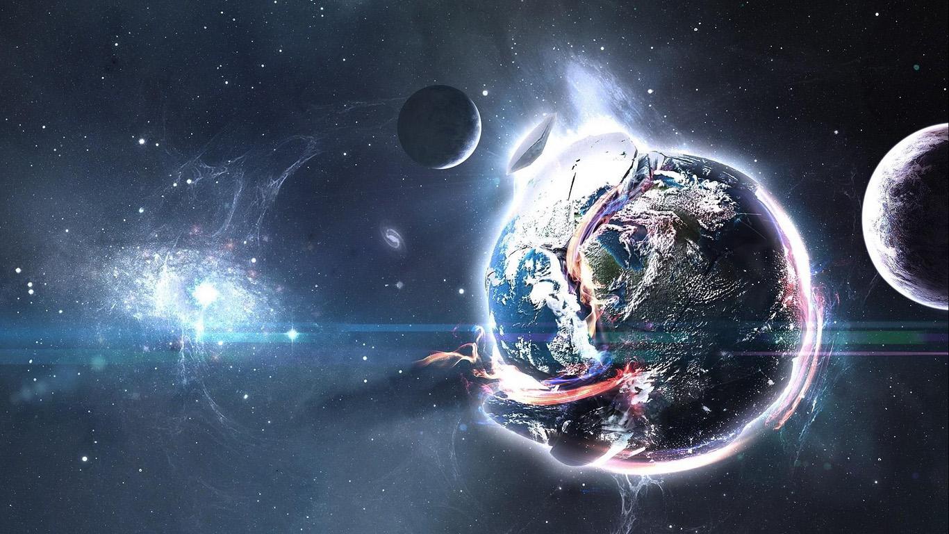Классные и прикольные обои космоса и неба на рабочий стол - сборка №7 9