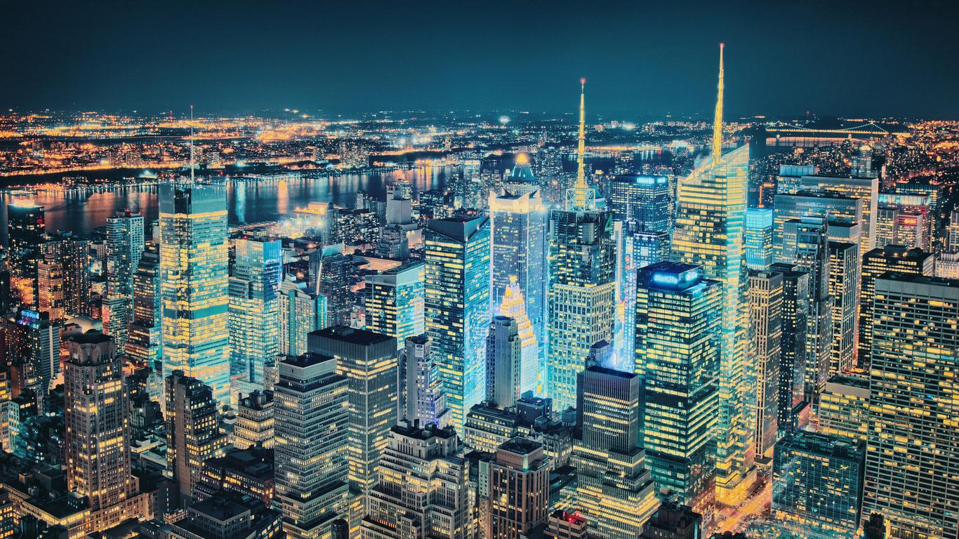 Красивые картинки Нью Йорка на рабочий стол - интересная сборка 11