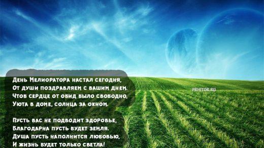 Красивые картинки и открытки поздравления С Днем Мелиоратора России 7