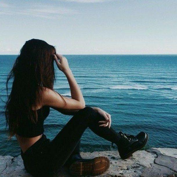 Красивые картинки на аву девушки, море, пляж, вода - подборка 10