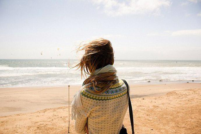 Красивые картинки на аву девушки, море, пляж, вода - подборка 3
