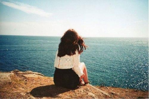 Красивые картинки на аву девушки, море, пляж, вода - подборка 4
