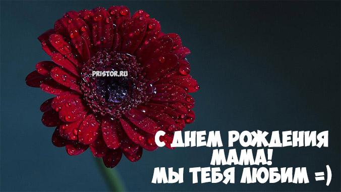 Красивые картинки с Днём Рождения маме - милая коллекция 5