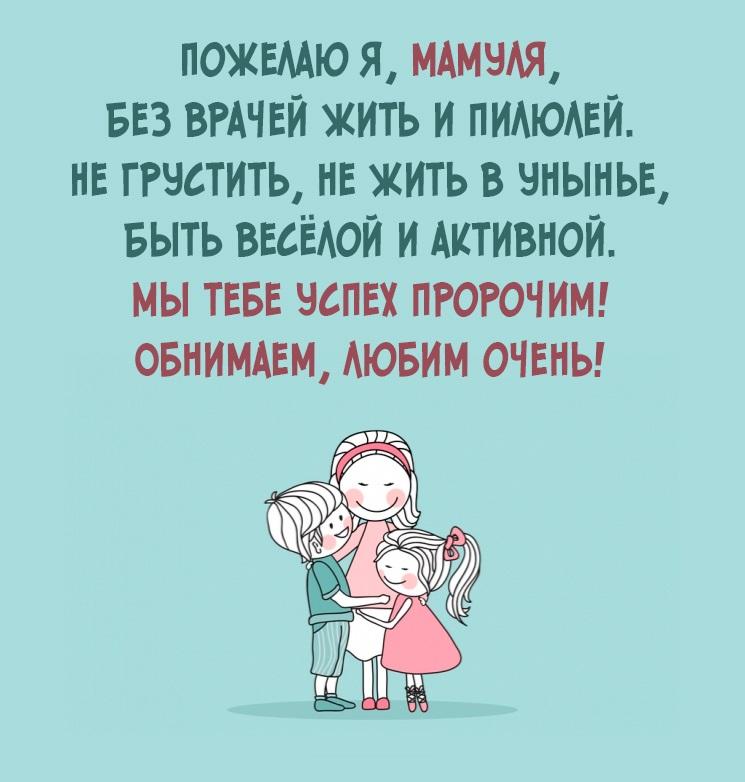 Красивые картинки с Днём Рождения маме - милая коллекция 6