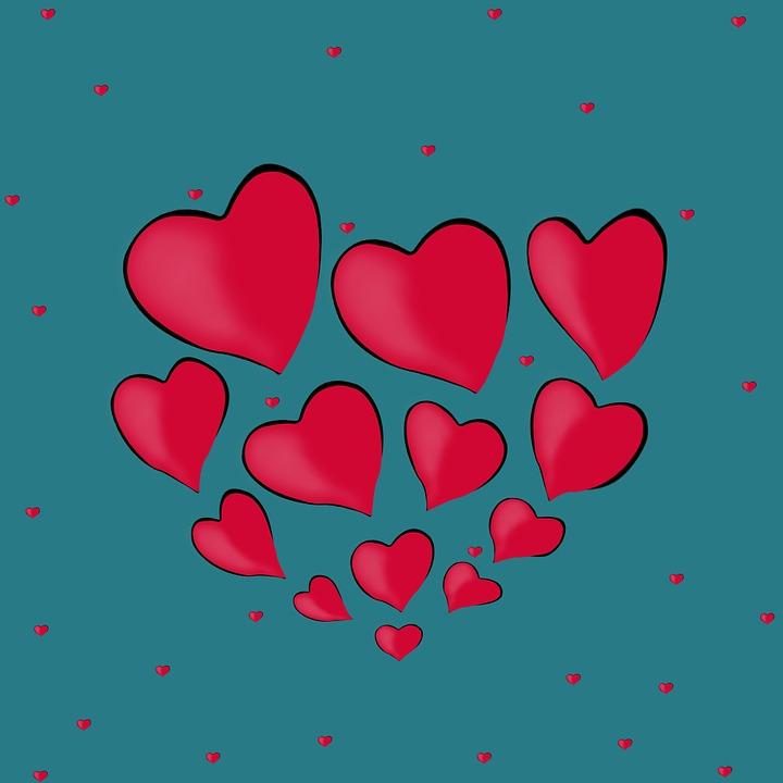 Красивые картинки с сердечками про любовь и чувства - без надписей 8