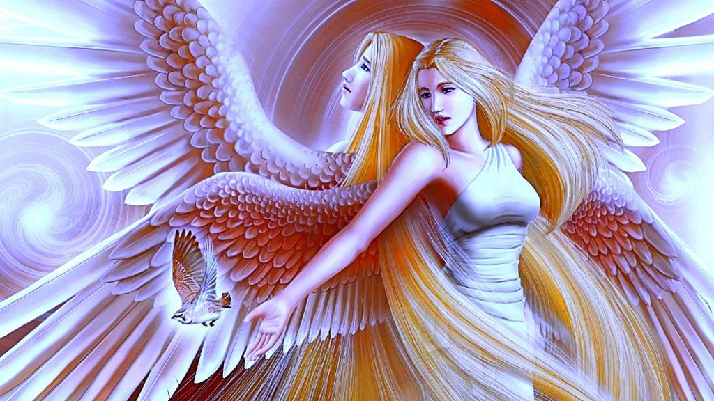 Красивые обои на рабочий стол Ангелы - прикольная подборка 11