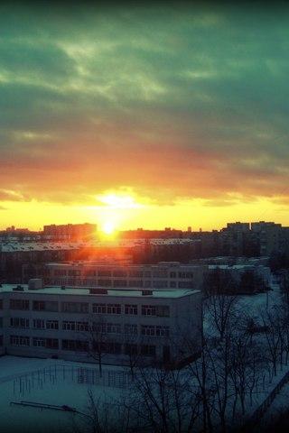 Крутые и красивые картинки на телефон закат, закат Солнца 13