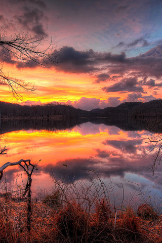 Крутые и красивые картинки на телефон закат, закат Солнца 15
