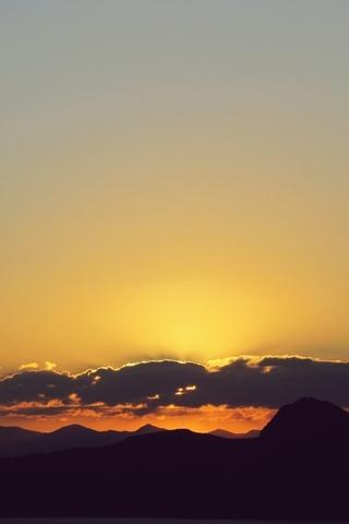 Крутые и красивые картинки на телефон закат, закат Солнца 19