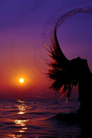 Крутые и красивые картинки на телефон закат, закат Солнца 4