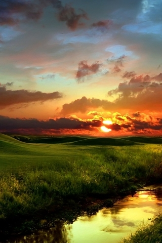 Крутые и красивые картинки на телефон закат, закат Солнца 9