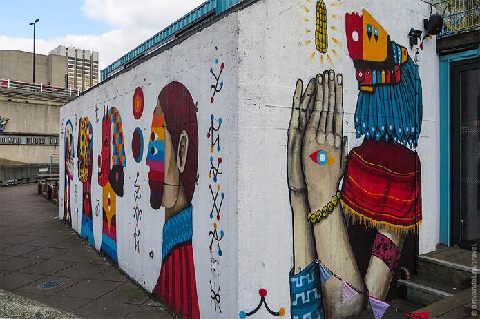 Крутые стрит-арт граффити, картинки граффити - прикольная сборка 12