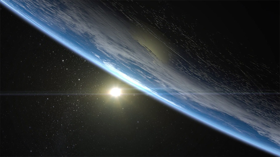 Невероятные фотографии Земли, взгляд из космоса - подборка 1