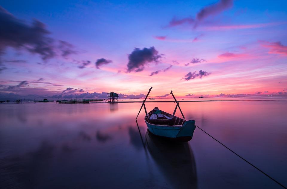 Невероятный и красивый закат Солнца летом - картинки и изображения 15