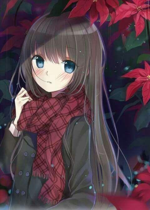 Очаровательные и милые аниме картинки - красивая коллекция 5