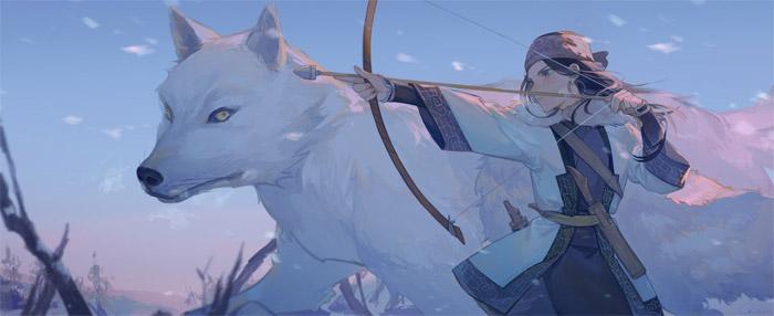 Очаровательные и милые аниме картинки - красивая коллекция 8