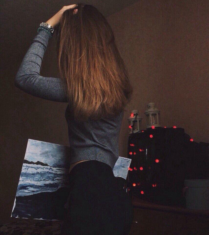 Очень красивые картинки девушки сзади на аву - подборка 10