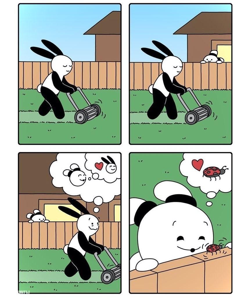 Подборка смешных комиксов, которая заставит вас улыбнуться №11 8