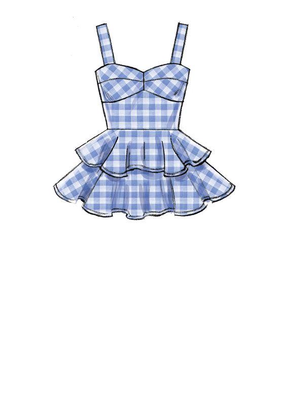 Прикольные и красивые картинки одежды для срисовки - подборка 1