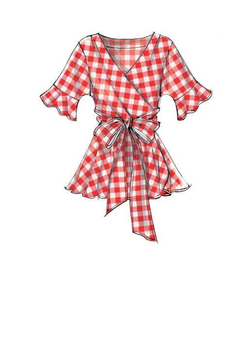 Прикольные и красивые картинки одежды для срисовки - подборка 16