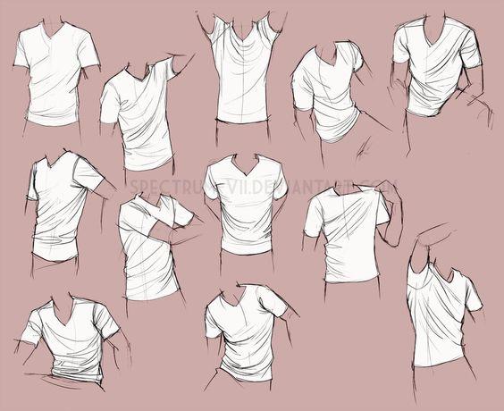 Прикольные и красивые картинки одежды для срисовки - подборка 4